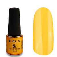 Гель-лак FOX Pigment 014 желтый глянец