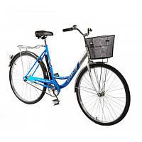 Дорожный велосипед 24 дюйма Lady New Салют F-5  синий***