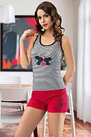 """Пижама женская футболка с шортами """"Maranda"""", Турция, размеры XL, XXL"""