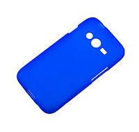 Силиконовый чехол для Samsung Galaxy Ace 4 G313H cиний