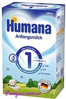 Сухая молочная смесь Humana 1 с пребиотиками, LC PUFA и нуклеотидами, 600 г.