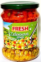 Овощное ассорти для салатов Fresh Zeleninova zmes 470 гр