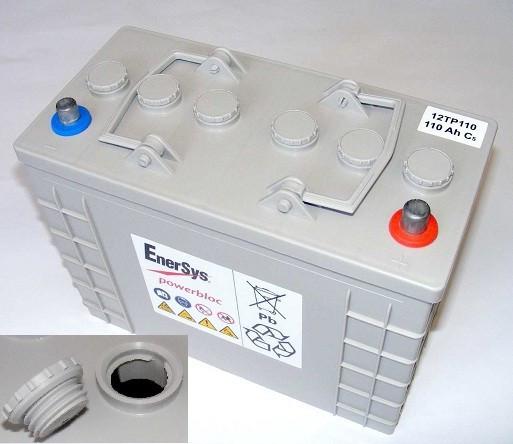 Аккумуляторная батарея Powerbloc 12ТР110 с увеличенным циклическим ресурсом