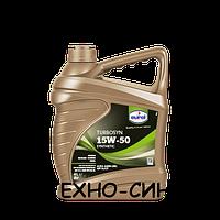 Синтетическое моторное масло Eurol Turbosyn 15W-50 (4л)