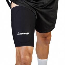 Неопреновый бандаж на бедро McDavid 472 Thigh Sleeve with anterior patch, фото 2