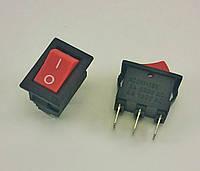 Кнопка, выключатель, тумблер 2 положения 3 контакта. 10*15 мм. 1 шт