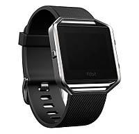 Умные часы Fitbit Blaze, Silver, size L, цветной сенсорный экран 1.25', совместимость iOS/Android/Windows Phone, Bluetooth 4.0, шагомер, пульсометр,