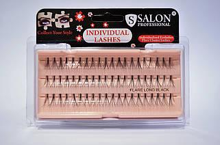 Пучковые ресницы Salon