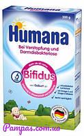 Сухая молочная смесь Humana Bifidus c пребиотиками, 300 г.