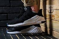 Мужские кроссовки Adidas Climacool ADV 🔥 (Адидас Климакул) Черный с белым