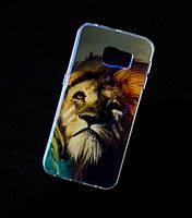 Силиконовый чехол для Samsung G925F Galaxy S6 Edge перламутр №3