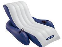 Надувное кресло - шезлонг Intex 58868, фото 1
