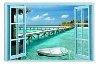 Светящиеся картины Startonight Окно в Рай Природа Пейзаж Печать на Холсте Декор стен Дизайн дома Интерьер