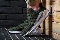 Мужские кроссовки Adidas Climacool ADV 🔥 (Адидас Климакул) Зеленый с белым
