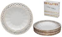 Набор тарелок 6 шт Кружево 23 см SNT 30902