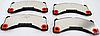 Оригинальные передние колодки Porsche CAYENN от 2010г.-, PANAMERA от 2009г.-, MACAN от 2014г.-