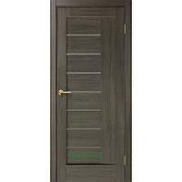 Двери Фелиция ПВХ (стекло сатин) мокко
