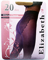 Колготки Elizabeth 20 den Bikini Charm visone