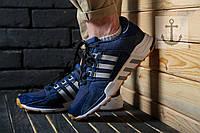 Мужские кроссовки Adidas Equipment 93 Support ADV 🔥 (Адидас EQT Эквипмент) Синий