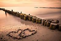 Светящиеся картины Startonight Пляж Любви Море и Горы Вода Природа Пейзаж Печать на Холсте