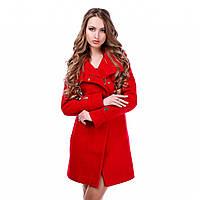 Красивое пальто женское демисезонное в 2х цветах Вивея