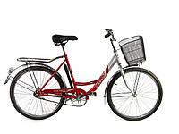 Дорожный велосипед Lady New Салют F-5 26 дюйма красный***
