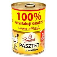 Паштет куриный Pamapol Pasztet z drobiem 390 гр