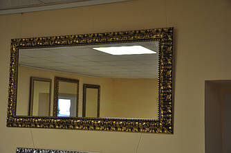 Зеркало в деревянной раме 1050х550мм