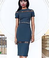 Облегающее платье (Размарин jd) т.серый