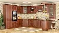 Паула Мебель-Сервис кухня кедр модульная угловая