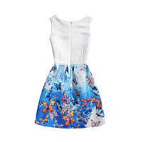 Детское платье с бабочками Monica 7102
