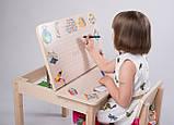 Стол - парта + стул для рисования с фотопечатью Вальтер Пром, фото 2