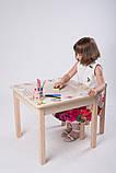 Стол - парта + стул для рисования с фотопечатью Вальтер Пром, фото 3