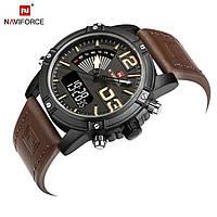 Часы мужские наручные Naviforce Tresher brown