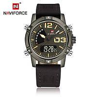 Часы мужские наручные Naviforce Tresher dark brown
