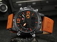 Часы мужские наручные Naviforce Tresher light brown