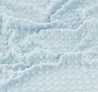 Плюш Minky светло-голубой цвет 300 г/м2 №-32