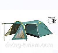 Палатка четырехместная с тентом FRT-207-4. Распродажа!