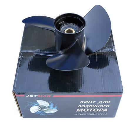 Винт гребной для лодочного мотора Jetmar алюминий Honda 35-65 hp, фото 2