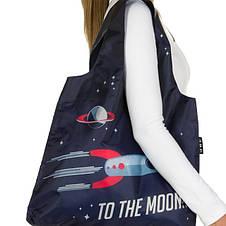Дизайнерская сумка тоут Envirosax женская EK.B14 модные эко сумки женские, фото 3