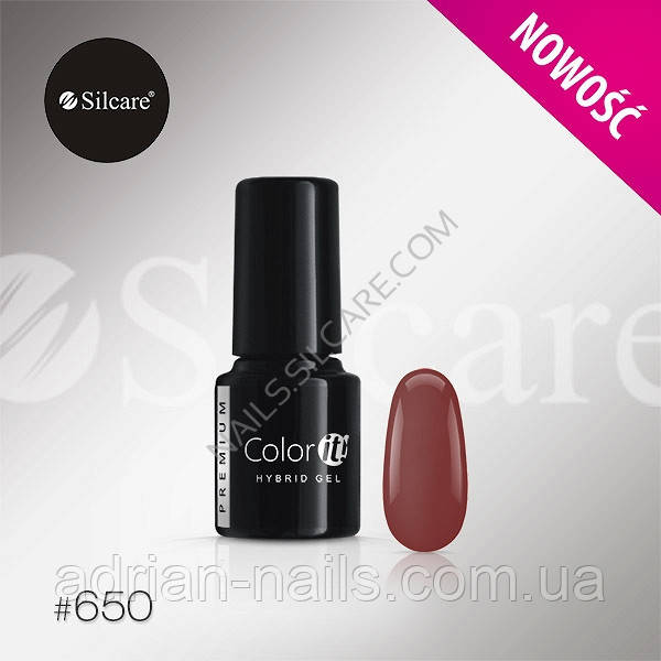 Гель-лак Color it Premium № 650