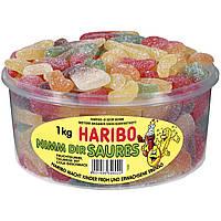 Кислое Лакомство Харибо Nimm Dir Saures Haribo конфеты  1000гр.150шт.