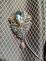 Декоративный магнит подхват для тюлей и штор на тросике держатель № 3-100
