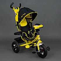 Трехколесный велосипед Best Trike желтый 6588В, фото 2
