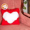 Декоративная подушка с сердцем, фото 2