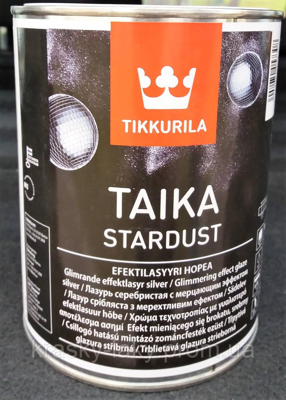 7aa4c0346a0 Лазурь Taika Stardust Tikkurila серебристая, 1л: продажа, цена в ...