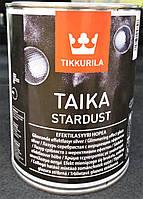 Лазурь Taika Stardust Tikkurila серебристая, 1л