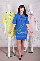 Женское весеннее платье от AMAZONKA - Код пл-144р