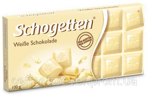 Шоколад белый Schogetten White Chocolate 100 г., фото 2