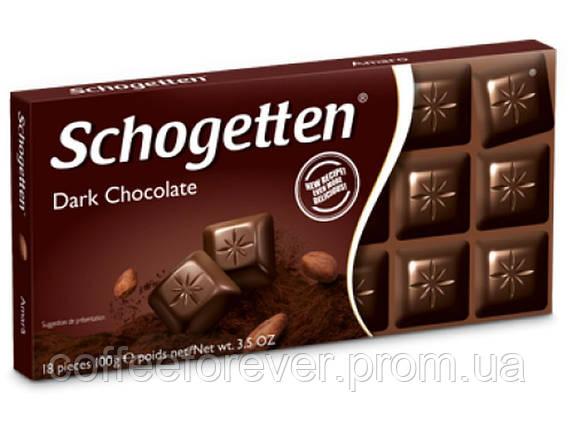 Шоколад черный Schogеtten Dark Chocolate 100 г., фото 2
